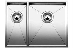 Blanco ZEROX 340/180-IF(чаша справа) нерж.сталь зеркальная полировка с отв. арм. InFino - фото 11992