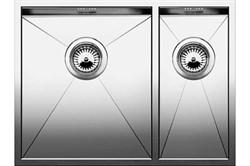 Blanco ZEROX 340/180-U (чаша слева) нерж.сталь зеркальная полировка с отв. арм. InFino - фото 12045