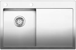 Blanco CLARON 4 S-IF/А (чаша слева) нерж.сталь зеркальная полировка с  кл.-авт. InFino и управлением PushControl - фото 12115