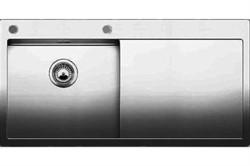 Blanco CLARON 5 S-IF/А (чаша слева) нерж.сталь зеркальная полировка с  кл.-авт. InFino и управлением PushControl - фото 12122