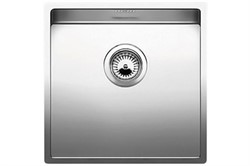 Blanco CLARON 400-U нерж.сталь зеркальная полировка с отв. арм. InFino - фото 12451
