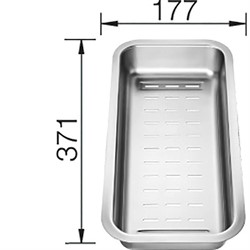 Многофункциональный коландер Blanco 226189 - фото 13436