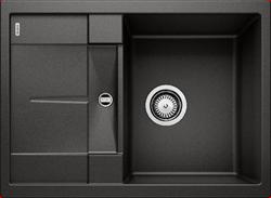 Blanco METRA 45 S Compact SILGRANIT черный, с клапаном-автоматом - фото 17065