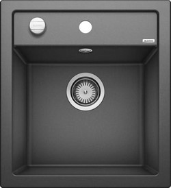 Blanco DALAGO 45 SILGRANIT антрацит с клапаном-автоматом - фото 17341