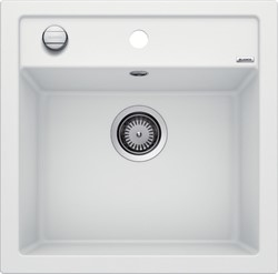 Blanco DALAGO 5 SILGRANIT белый с клапаном-автоматом - фото 20840