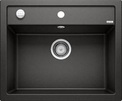 Blanco DALAGO 45-F SILGRANIT черный с клапаном-автоматом - фото 20859