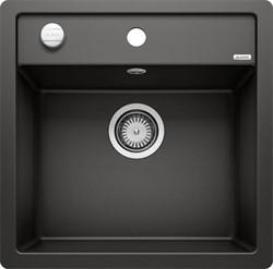 Blanco DALAGO 5-F SILGRANIT черный с клапаном-автоматом - фото 20976