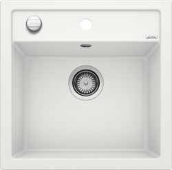 Blanco DALAGO 5-F SILGRANIT белый с клапаном-автоматом - фото 21012
