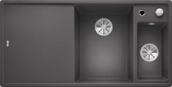 Blanco AXIA III 6 S SILGRANIT темная скала чаша справа, доска стекло c кл.-авт. InFino - фото 21172