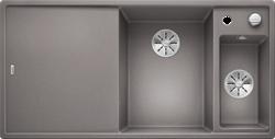 Blanco AXIA III 6 S SILGRANIT алюметаллик чаша справа, доска стекло c кл.-авт. InFino - фото 21177