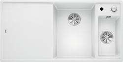Blanco AXIA III 6 S SILGRANIT белый чаша справа, доска стекло c кл.-авт. InFino - фото 21187