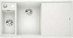 Blanco AXIA III 6 S SILGRANIT белый чаша слева, доска стекло c кл.-авт. InFino® - фото 21233