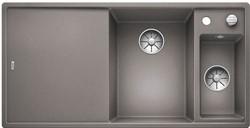 Blanco AXIA III 6 S SILGRANIT алюметаллик чаша справа, разделочный столик ясень c кл.-авт. InFino - фото 21274