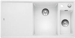 Blanco AXIA III 6 S SILGRANIT белый чаша справа, разделочный столик ясень c кл.-авт. InFino - фото 21284