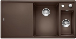 Blanco AXIA III 6 S SILGRANIT кофе чаша справа, разделочный столик ясень c кл.-авт. InFino - фото 21300