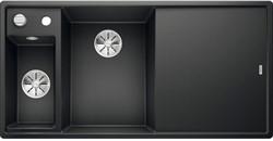 Blanco AXIA III 6 S SILGRANIT антрацит чаша слева, разделочный столик ясень c кл.-авт. InFino® - фото 21310