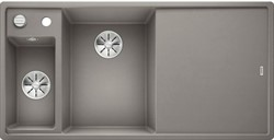 Blanco AXIA III 6 S SILGRANIT алюметаллик чаша слева, разделочный столик ясень c кл.-авт. InFino® - фото 21320