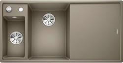 Blanco AXIA III 6 S SILGRANIT серый беж чаша слева, разделочный столик ясень c кл.-авт. InFino® - фото 21340