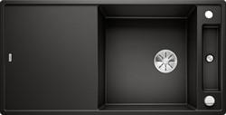 Blanco AXIA III XL 6 S SILGRANIT черный, доска стекло c кл.-авт. InFino - фото 21350