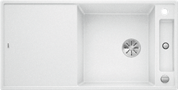 Blanco AXIA III XL 6 S SILGRANIT белый, разделочный столик ясень c кл.-авт. InFino - фото 21405