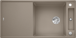 Blanco AXIA III XL 6 S SILGRANIT серый беж, разделочный столик ясень c кл.-авт. InFino - фото 21415