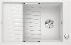Blanco ELON XL 6 S SILGRANIT белый с клапаном-автоматом InFino - фото 21544