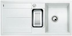 Blanco METRA 6 S SILGRANIT белый с клапаном-автоматом - фото 21801