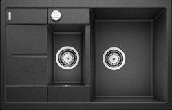 Blanco METRA 6 S Compact SILGRANIT антрацит с клапаном-автоматом - фото 21820