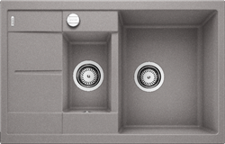 Blanco METRA 6 S Compact SILGRANIT алюметаллик с клапаном-автоматом - фото 21831