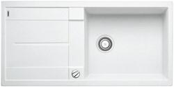 Blanco METRA XL 6 S SILGRANIT белый с клапаном-автоматом - фото 21868