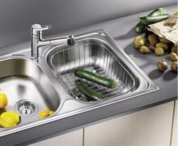 Blanco Корзина для посуды с держателями нерж. сталь 390 x 310 x 135 мм - фото 5107