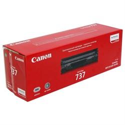 Лазерный картридж Canon 737 Bk - фото 7613