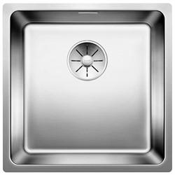 Blanco ANDANO 400-U нерж.сталь зеркальная полировка с отв. арм. InFino - фото 9168