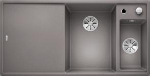 Blanco AXIA III 6 S SILGRANIT алюметаллик чаша справа, доска стекло c кл.-авт. InFino