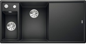 Blanco AXIA III 6 S SILGRANIT антрацит чаша слева, доска стекло c кл.-авт. InFino®