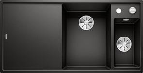 Blanco AXIA III 6 S SILGRANIT черный чаша справа, разделочный столик ясень c кл.-авт. InFino