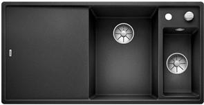 Blanco AXIA III 6 S SILGRANIT антрацит чаша справа, разделочный столик ясень c кл.-авт. InFino