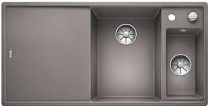 Blanco AXIA III 6 S SILGRANIT алюметаллик чаша справа, разделочный столик ясень c кл.-авт. InFino