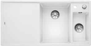 Blanco AXIA III 6 S SILGRANIT белый чаша справа, разделочный столик ясень c кл.-авт. InFino