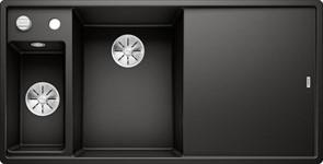 Blanco AXIA III 6 S SILGRANIT черный чаша слева, разделочный столик ясень c кл.-авт. InFino®