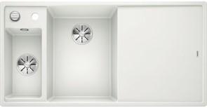 Blanco AXIA III 6 S SILGRANIT белый чаша слева, разделочный столик ясень c кл.-авт. InFino®
