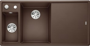 Blanco AXIA III 6 S SILGRANIT  кофе чаша слева, разделочный столик ясень c кл.-авт. InFino®