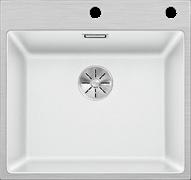 Blanco SUBLINE 500-IF/A SteelFrame SILGRANIT белый с кл.-авт. InFino