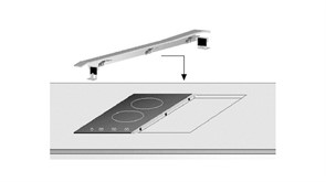 Teka Планка для комбинирования панелей из нерж.стали