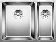 Blanco ANDANO 340/180-IF нерж.сталь зеркальная полировка с отв. арм. InFino, левая